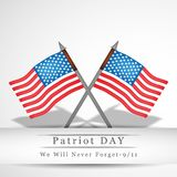 Illustration of Patriot Day background. Illustration of elements of Patriot Day background Stock Photos