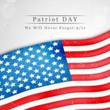 Illustration of Patriot Day background. Illustration of elements of Patriot Day background Stock Image