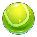 Illustration: Elements Set: Sport Ball: Tennis Ball. Stock Image