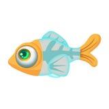 Illustration: Elements Set: X-Ray Fish. Stock Images