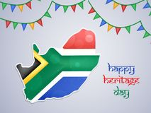 Illustration of South Africa Heritage Day background. Illustration of elements of South Africa Heritage Day background Stock Images