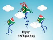 Illustration of South Africa Heritage Day background. Illustration of elements of South Africa Heritage Day background Royalty Free Stock Images