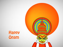 Illustration of South Indian Festival Onam background Royalty Free Stock Photo