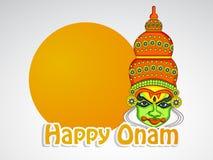 Illustration of South Indian Festival Onam background Stock Images
