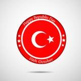 Illustration of Turkey Republic Day Background. Illustration of elements of Turkey Republic Day Background Royalty Free Stock Photography