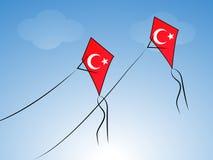 Illustration of Turkey Republic Day Background. Illustration of elements of Turkey Republic Day Background Royalty Free Stock Photos