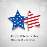 Illustration of Veterans Day Background Royalty Free Stock Photo