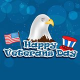 Illustration of Veterans Day Background. Illustration of elements of Veterans Day Background Royalty Free Stock Photography