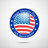 Illustration of Veterans Day Background. Illustration of elements of Veterans Day Background Stock Photography