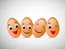 Illustration of World Egg Day Background Royalty Free Stock Photos