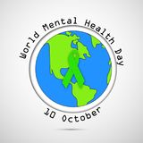 Illustration of World Mental Health Day Background. Illustration of elements of World Mental Health Day Background stock illustration