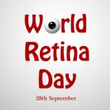 Illustration of World Retina Day Background. Illustration of elements of World Retina Day Background vector illustration