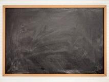Illustration of empty black school Board Stock Photo