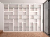 Illustration of Empty shelves Stock Images