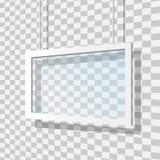 Illustration en verre de vecteur de cadre Photo libre de droits