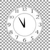 Illustration ENV 10 de vecteur d'horloge de bureau illustration de vecteur