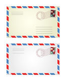 Illustration of envelopes Stock Photos