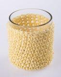 Illustration EPS-10 Leere Glasschale auf einem Hintergrund Stockfoto
