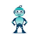 Illustration espiègle de robot Photos libres de droits