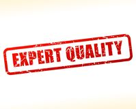 Expert quality text buffered vector illustration