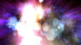 Illustration of an Explosion Stock Photo