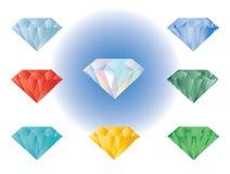 Illustration för ädelstenfärgvektor Royaltyfri Foto