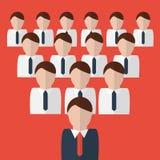 Illustration för affärslagbegrepp royaltyfri illustrationer