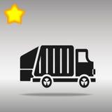 Illustration för avskrädelastbilar Vektor Illustrationer