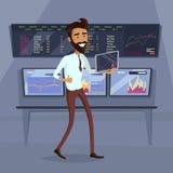 Illustration för begrepp för affärsframstegframgång stock illustrationer