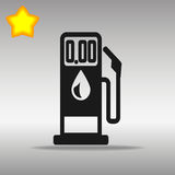Illustration för bensinpump Stock Illustrationer