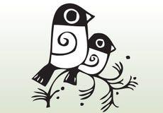 illustration för bridsdrawhand Arkivbild