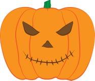 Illustration för design för JACK--O-LANTERNpumpavektor för halloween beröm vektor illustrationer