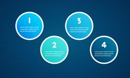Illustration för design för presentationsmalllägenhet för advertizing för marknadsföring för rengöringsdukdesign royaltyfria bilder