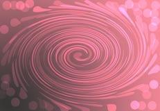 Illustration för festlig bokehrosa färger för grå färger för Duotone digital cirkel för abstrakt begrepp stock illustrationer
