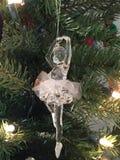 illustration för jul för ballerinabalettskönhet Royaltyfria Bilder
