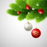 Illustration för julbakgrundsvektor Arkivfoto