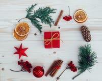 Illustration för julgåvaaskar Royaltyfri Illustrationer