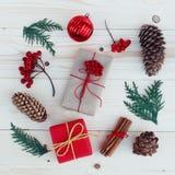 Illustration för julgåvaaskar Royaltyfri Bild