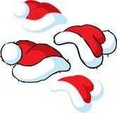 Illustration för jultomtenlockvektor - som isoleras på vit vektor illustrationer