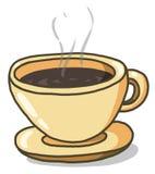 illustration för kaffekopp Fotografering för Bildbyråer