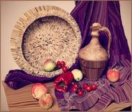 Illustration för konstverkvektormålning av stilleben Royaltyfria Foton