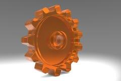 illustration för kugghjul 3d stock illustrationer