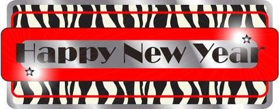 Illustration för lyckligt nytt år arkivfoto