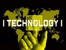 Illustration för ordningsvakt 3d för Cybersecurity teknologi high tech royaltyfri illustrationer