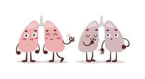 Illustration för rökbytevektor royaltyfri illustrationer