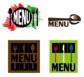 Illustration för restauranger Arkivbild