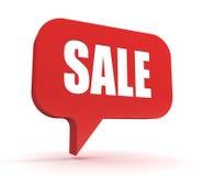 Illustration för Sale begrepp 3d Arkivfoton