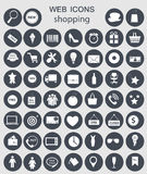 Illustration för shoppingsymbolsvektor vektor illustrationer