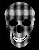 Illustration för skalleteckenvektor vektor illustrationer