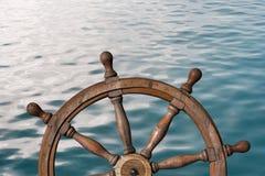 Illustration för styrninghjul och för havyttersida 3d Royaltyfri Foto